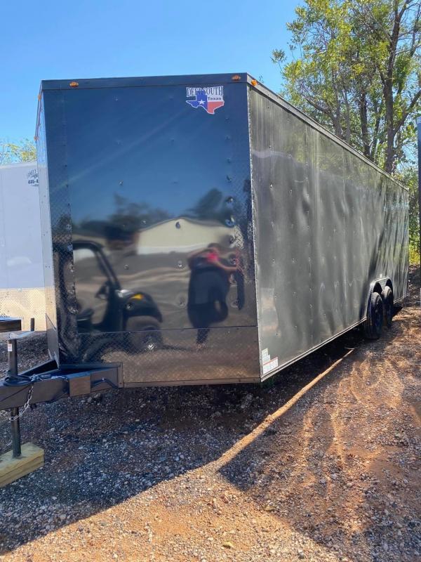 2022 Deep South 8.5x24 Tandem Axle Enclosed Cargo Trailer - 5200lb Axles -