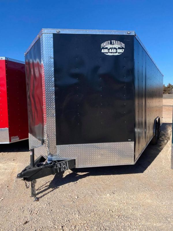 2021 Deep South 8.5x20 Tandem Axle Enclosed Cargo Trailer -  5200lb Axles--