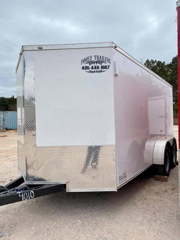 2020 Deep South 7x14 Tandem Axle Enclosed  Cargo Trailer -