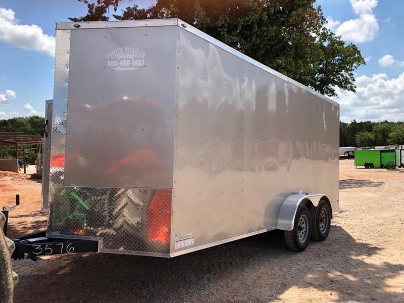 2020 Deep South 7x16 Tandem Axle Enclosed Trailer - NEW!!