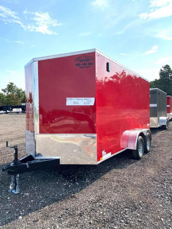 2022 Pace American 7x14TA Enclosed Cargo Trailer