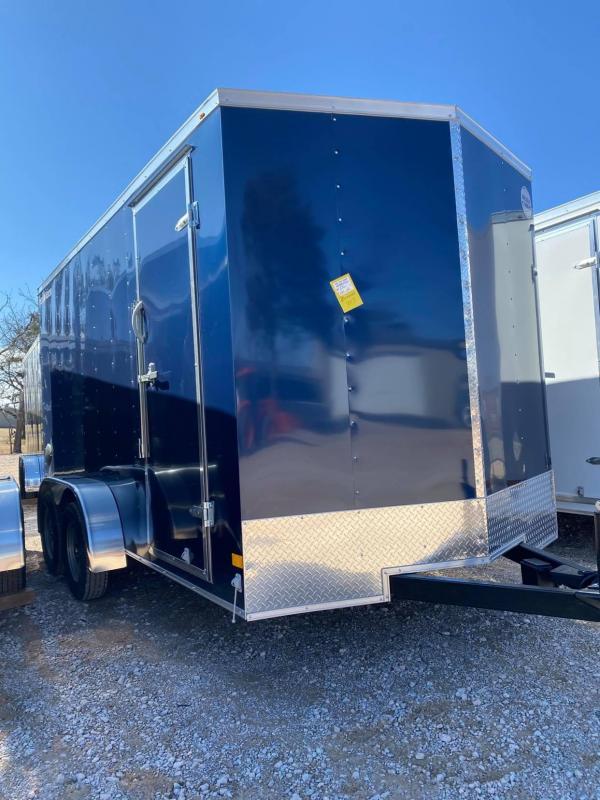 2021 Wells Cargo Fast Trac 7x14 Enclosed Cargo Trailer -
