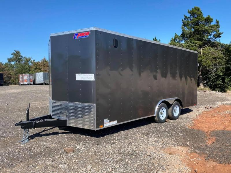 2022 Pace American 8.5x18 Tandem Axle Enclosed Cargo Trailer