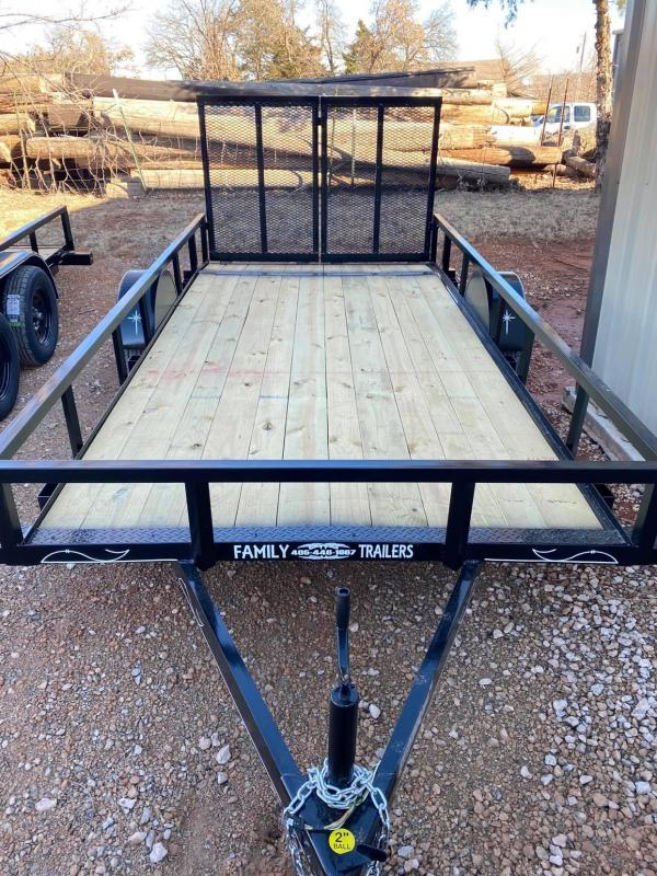 2021 Starlite Trailers 6x14 Single Axle Utility Trailer
