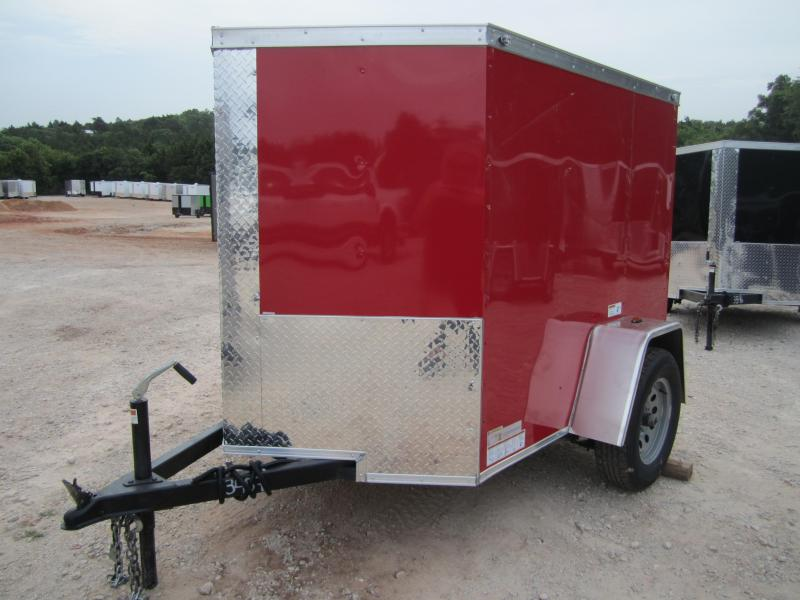 2020 Deep South 5x6 Single Axle Enclosed Cargo Enclosed Cargo Trailer