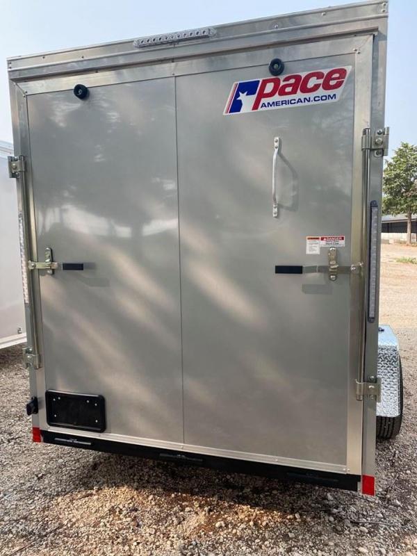 2022 Pace American 6x12 Enclosed Cargo Trailer - Screwless Exterior