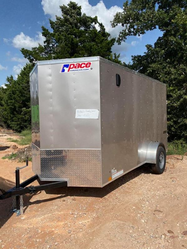 2021 Pace American 6x12 Enclosed Cargo Trailer