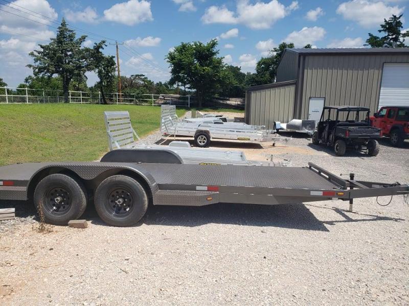 2021 82x20 Steel Deck Car Hauler - 5200lb Axles