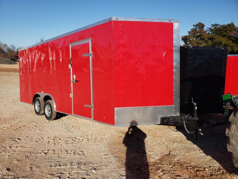 2021 Deep South 8.5x20 Tandem Axle Enclosed Cargo Trailer -  3500lb Axles -