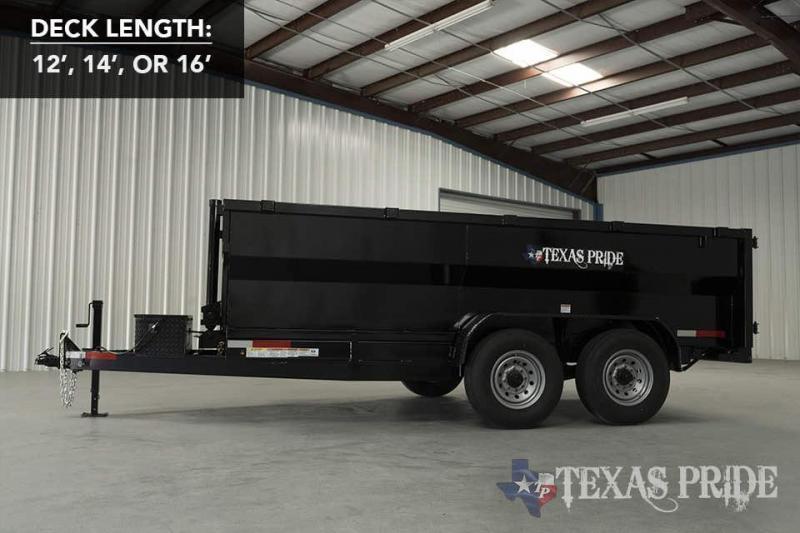 2021 Texas Pride Trailers DT71414KBP Dump Trailer