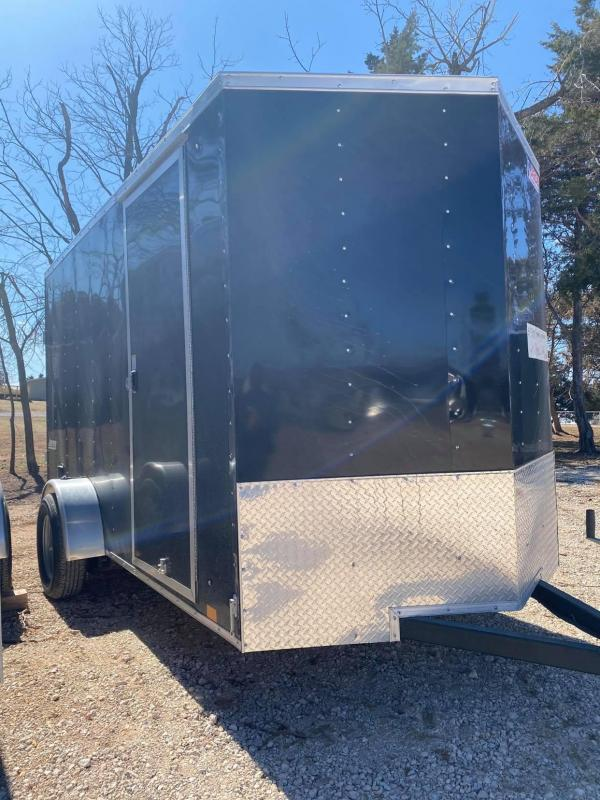2021 Pace American 6x12 Single Axle Enclosed Cargo Trailer- NEW --