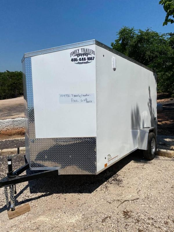 2021 Pace American 6x12 Enclosed Cargo Trailer- SCREWLESS- new!