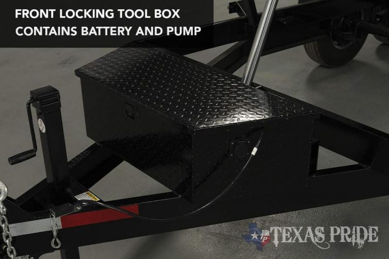 2021 Texas Pride Trailers DT71614KBP Dump Trailer