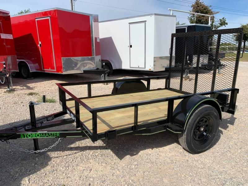 2021 Toro Master 5x8 Single Axle Utility Trailer