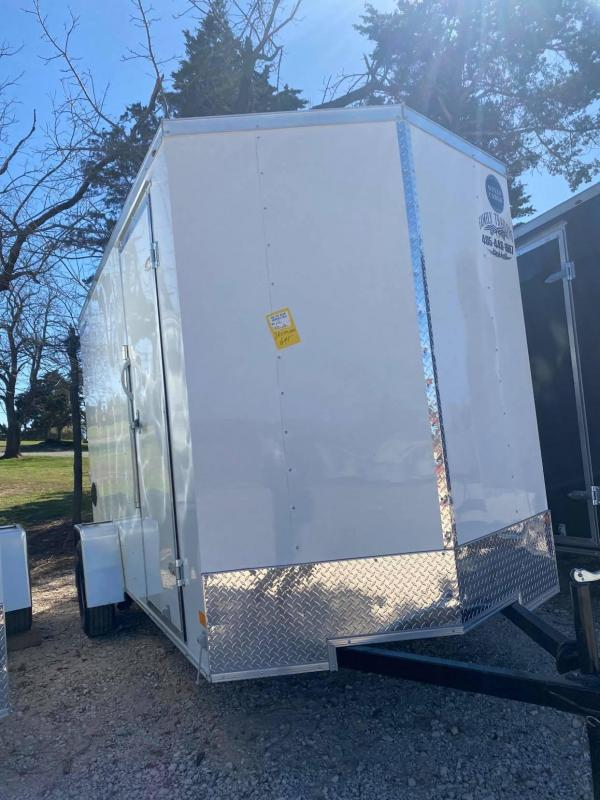 2021 Wells Cargo 6x12 Single Axe Fast Trac Enclosed Cargo Trailer