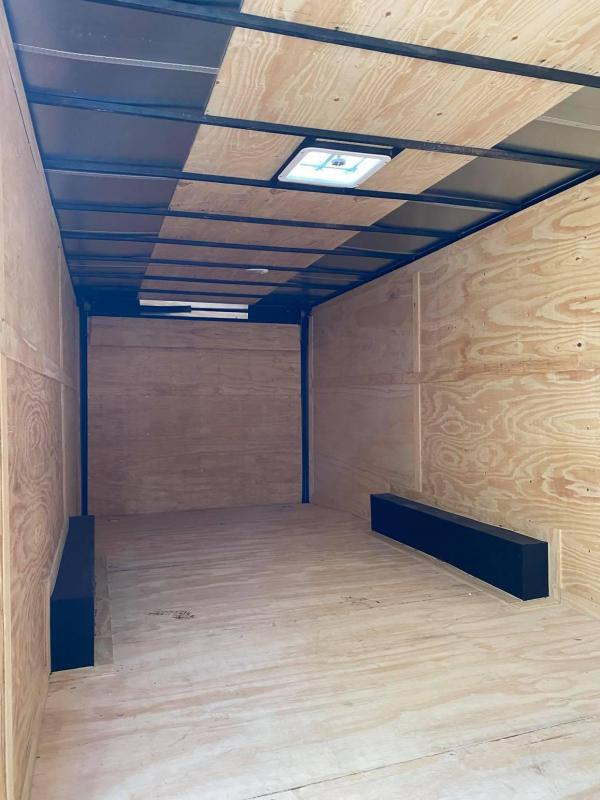 2021 Deep South 8.5x24 Tandem Axle Enclosed Cargo Enclosed Cargo Trailer - 5200lb Axle -