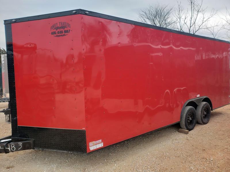2021 Deep South 8.5x20 Tandem Axle Enclosed Cargo Trailer -  3500lb Axles--