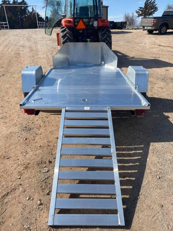 2022 Aluma MC2F Utility Trailer - TORSION AXLES