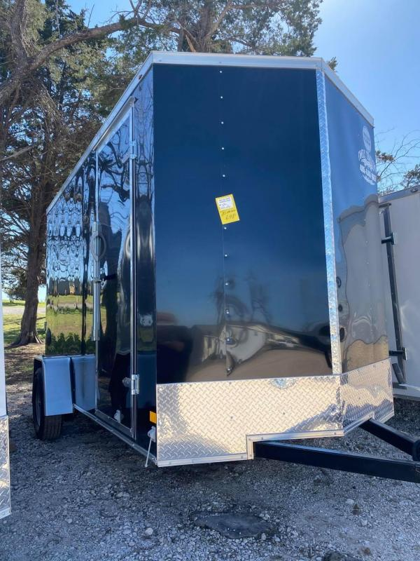 2021 Wells Cargo 6x12 Single Axle Fast Trac Enclosed Cargo Trailer