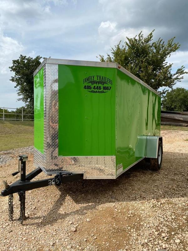 2020 Deep South 5x12 Single Axle Enclosed Cargo Trailer -
