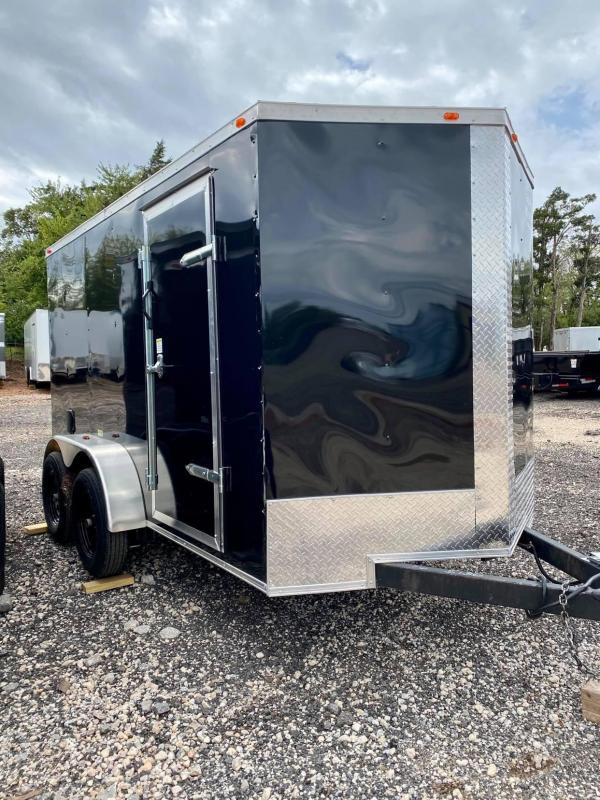 2021 Deep South 6x12 Tandem Axle Enclosed Cargo Trailer -