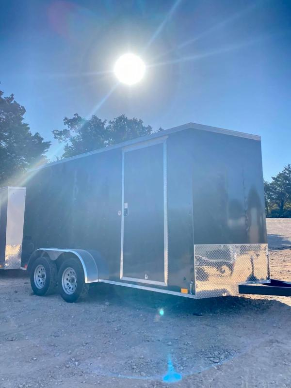2021 Pace American 7X14 Tandem Axle Enclosed Cargo Trailer-- NEW!!