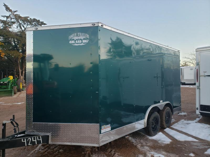 2021 Deep South 8.5x14 Tandem Axle Enclosed Cargo Trailer - NEW BUT DISCOUNTED -