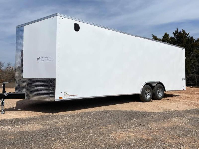 2022 Pace American 8.5x24 Enclosed Cargo Trailer SCREWLESS--