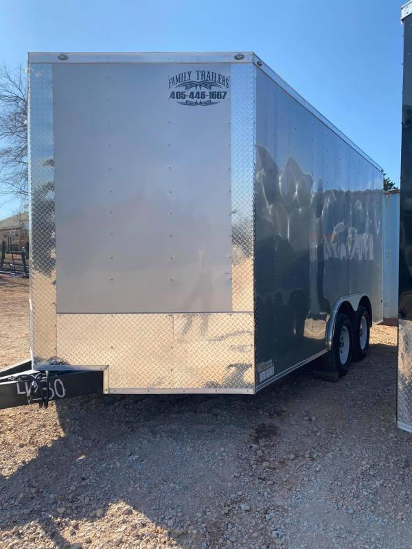2020 Deep South 8.5x14 Tandem Axle Enclosed Cargo Trailer -NEW BUT DISCOUNTED--