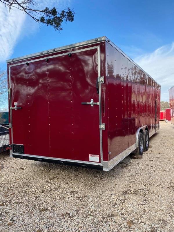2021 Deep South 8.5x24 Tandem Axle Enclosed Cargo Enclosed Cargo Trailer - 5200lb Axle -