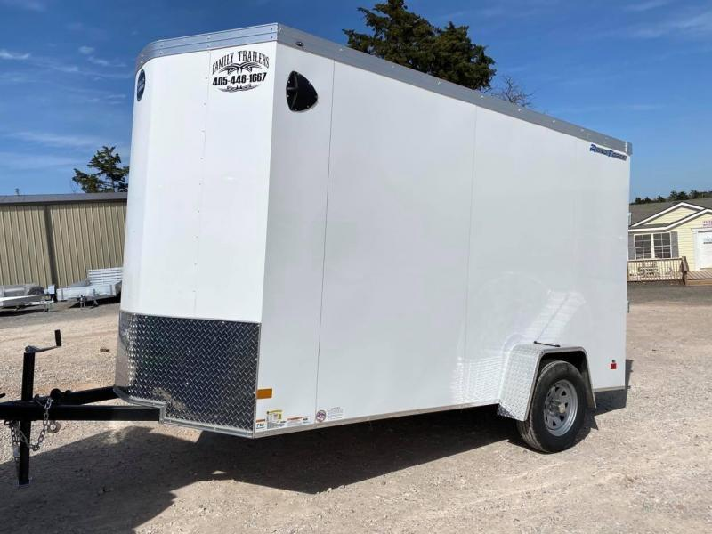 2021 Wells Cargo 6x12 Single Axle Road Force Enclosed Cargo Trailer