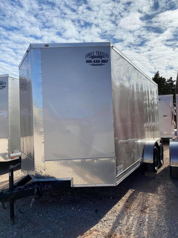 2021 Deep South 7x14 Tandem Axle Enclosed Cargo Trailer -