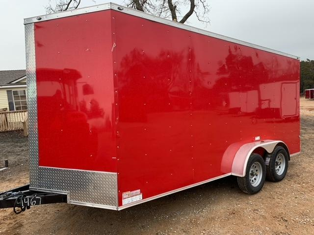 2021 Deep South 7x16 Tandem Axle Enclosed Trailer -