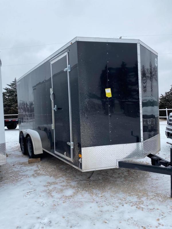 2021 Wells Cargo Fast Trac 7x16 Enclosed Cargo Trailer