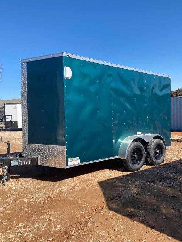 2021 Deep South 6x12 Tandem Axle Enclosed Cargo Trailer -  DISCOUNTED TRAILER!