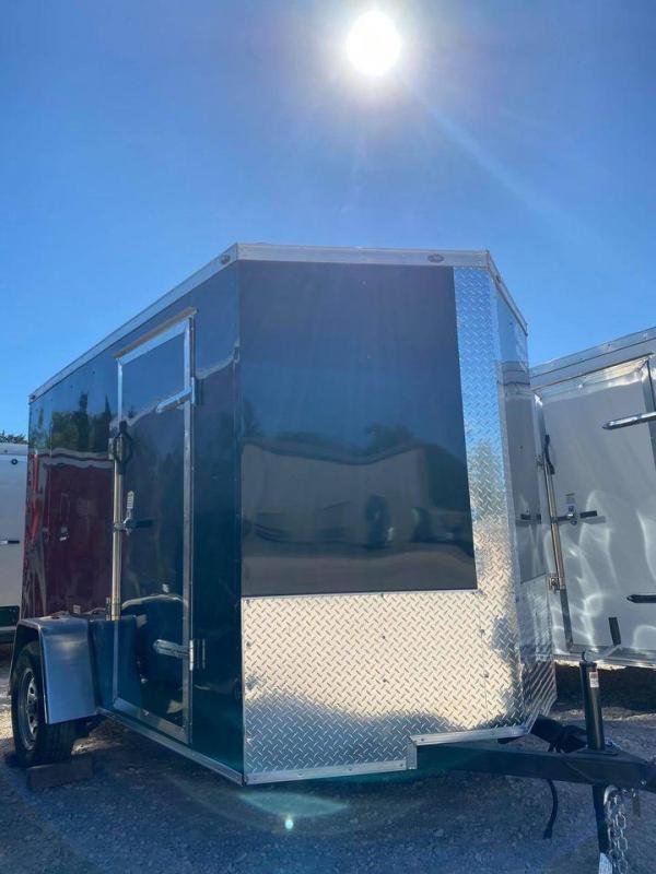 2021 Deep South 6x10 Single Axle Enclosed Cargo Trailer - New!