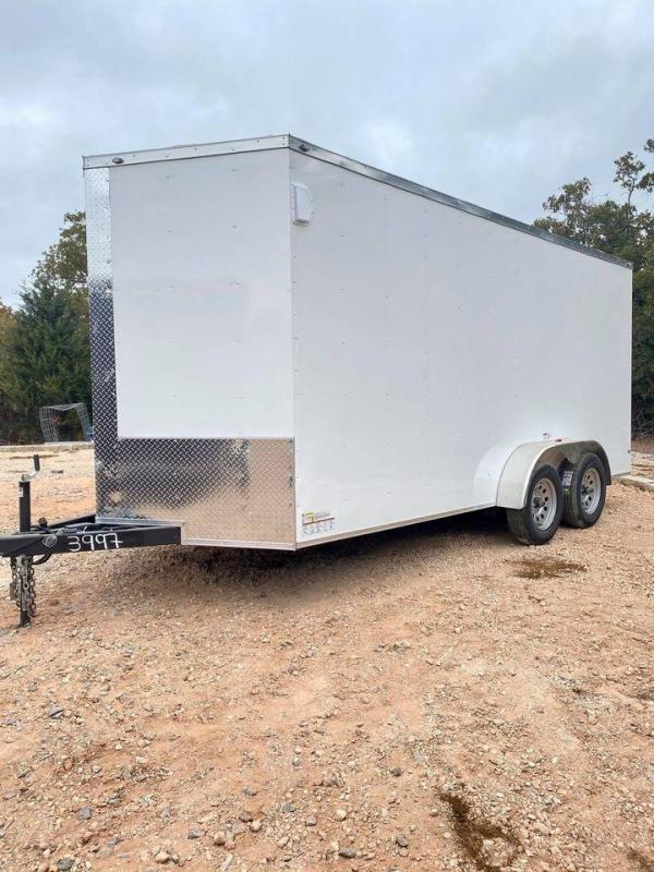 2020 Deep South 7x16 Tandem Axle Enclosed Trailer -