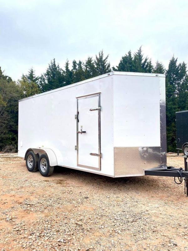 2020 Deep South 7x16 Tandem Axle Enclosed Trailer -
