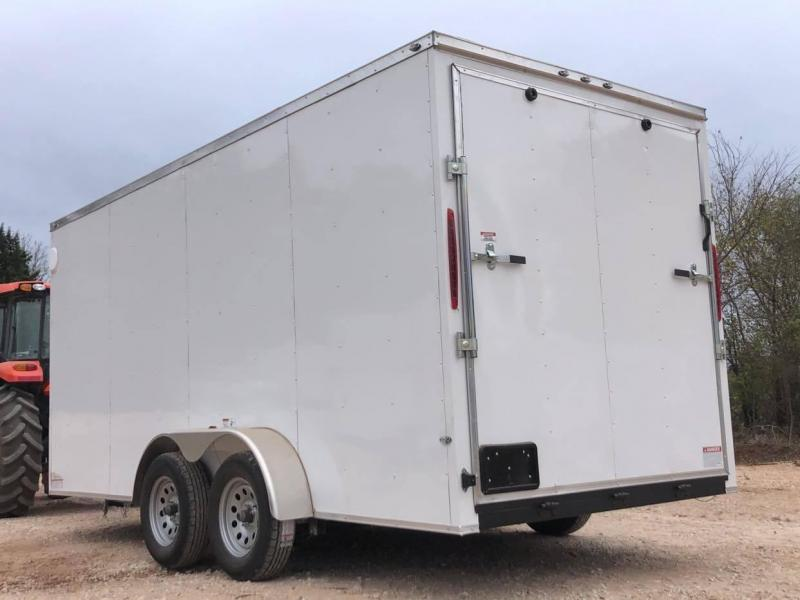2020 Deep South 7x16 Tandem Axle Enclosed Trailer - NEW--