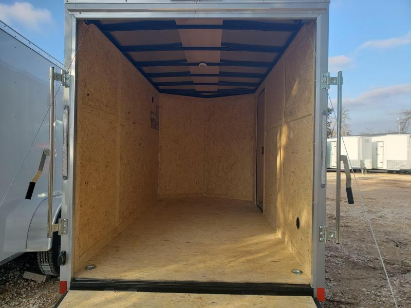 2021 Pace American 6x12 Single Axle Enclosed Cargo Trailer- NEW-- SCREWLESS EXTERIOR!!!