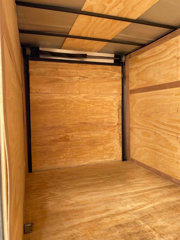 2020 Deep South 6x12 Single Axle Enclosed Cargo Trailer - NEW BUT DISCOUNTED--