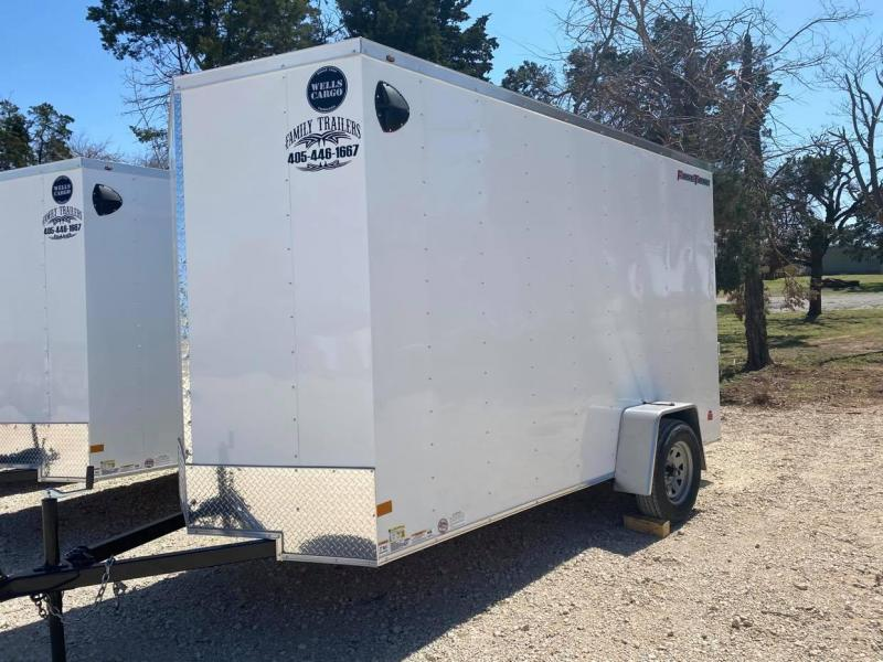 2021 Wells Cargo 6x12 Single Axle Fast Trac Enclosed Cargo Trailer