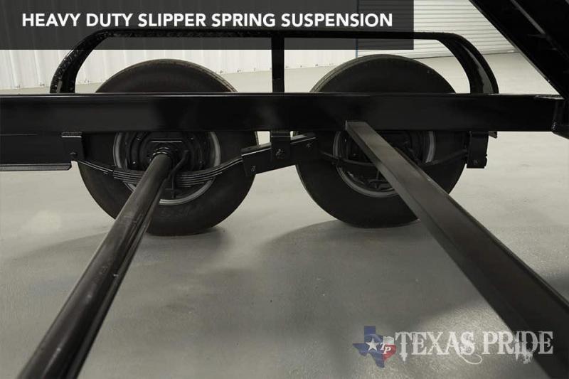 2021 Texas Pride Trailers DT714314KBP Dump Trailer