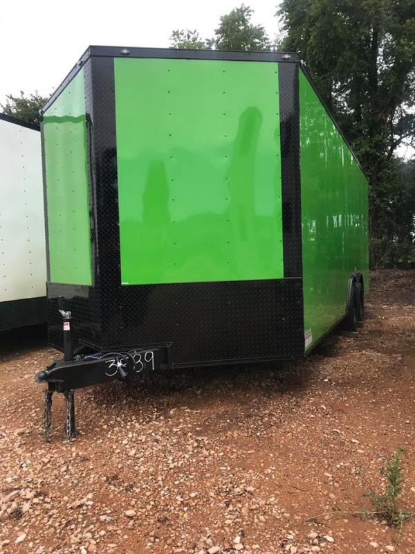 2020 Deep South 8.5x20 Tandem Axle Enclosed Cago Trailer - NEW!!
