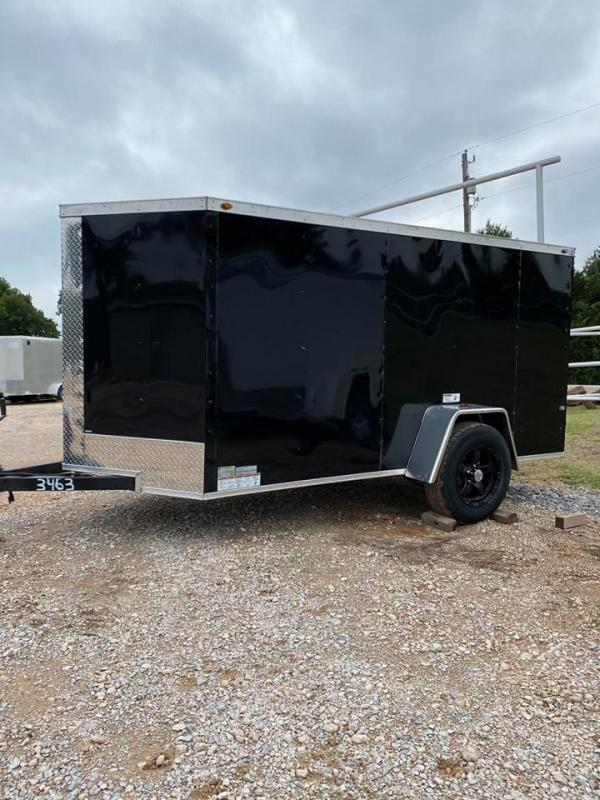2020 Deep South 5x10 Single Axle Enclosed Cargo Trailer - NEW!
