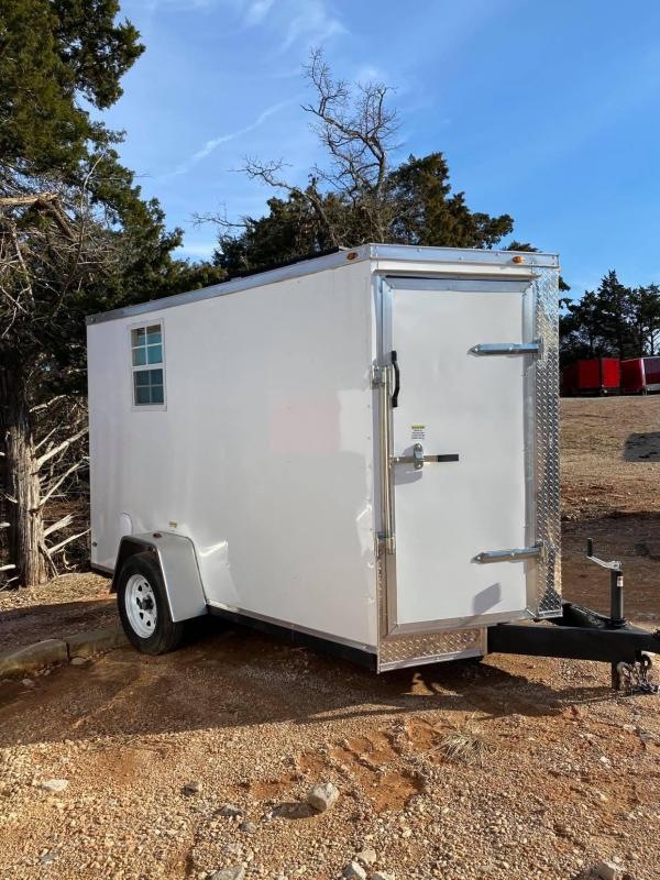 2019 Deep South 6x10 SA Enclosed Cargo Trailer -- Camper Conversion --