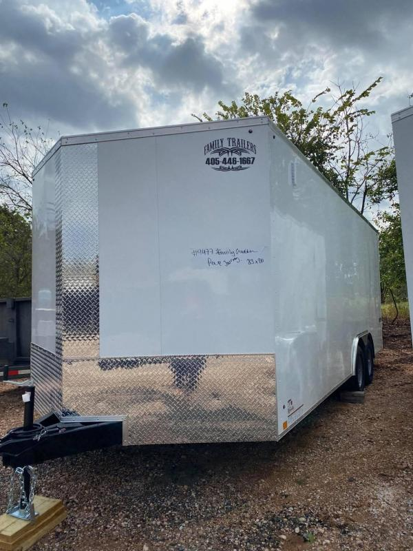 2021 Pace American 8.5x20 Enclosed Cargo Trailer SCREWLESS--