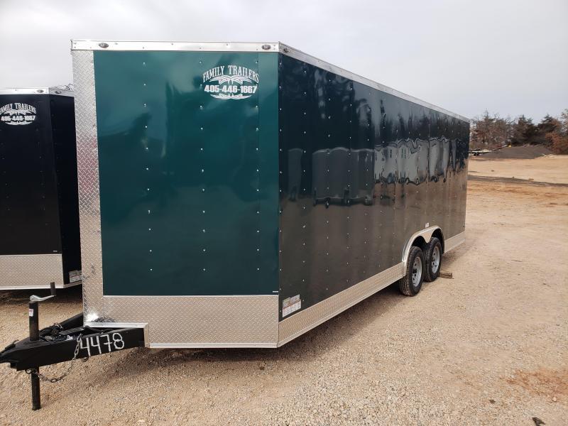 2020 Deep South 8.5x20 Tandem Axle Enclosed Cargo Trailer -  3500lb Axles -