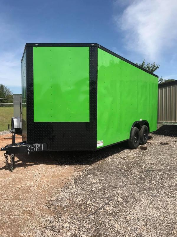 2020 Deep South 8.5x16 Tandem Axle Enclosed Cargo Trailer - NEW!!