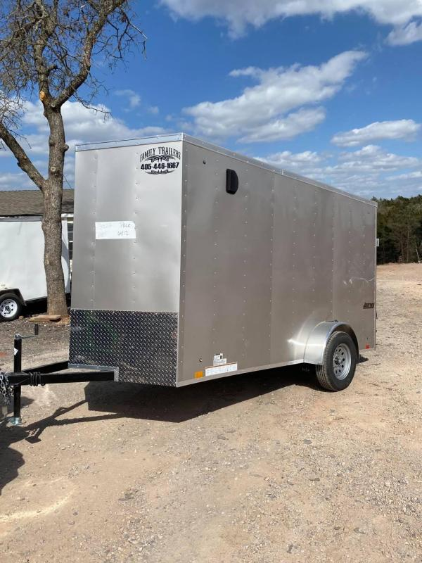 2021 Pace American 6x12 Single Axle Enclosed Cargo Trailer- NEW--